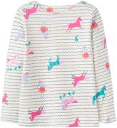 Joules Girls Harbour Print Jersey Top