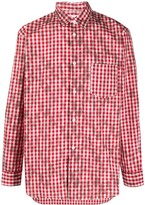 Comme des Garcons Cotton Checked Shirt