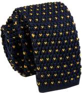 D.berite Dots Men's Wedding Skinny Knit Knitted Tie Necktie