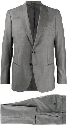 Giorgio Armani Single-Breasted Two-Piece Suit