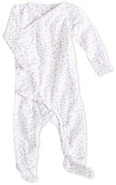 Aden Anais Infant Girl's Aden + Anais Long Sleeve Kimono Footie