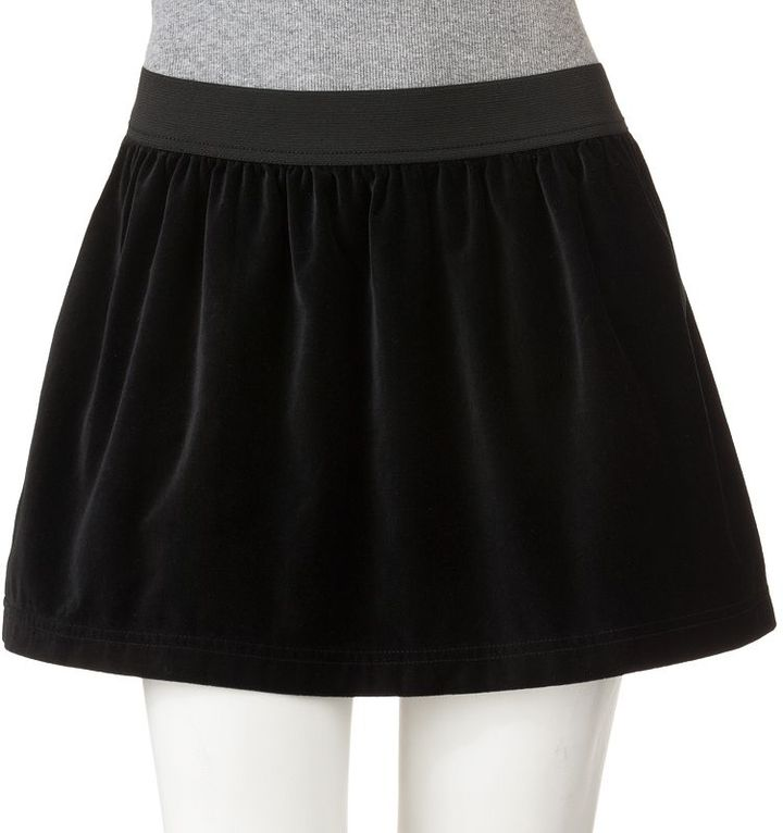 So® velvet skirt - juniors