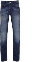 True Religion Iron Will Faded Blue No Flap Slim Jeans