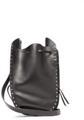 Isabel Marant Taj Studded Leather Cross-body Bag - Womens - Black