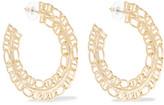 Dannijo Hawk Gold-plated Earrings - one size