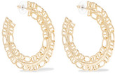 Dannijo Hawk Gold-plated Earrings