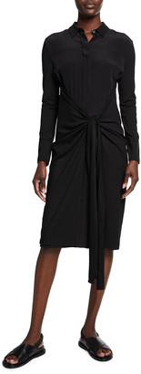 MAX MARA LEISURE Tanaro Collared Jersey Dress