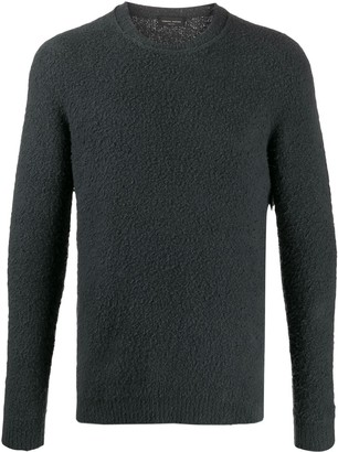 Roberto Collina Textured Relaxed Fit Jumper