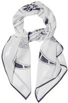 Loewe Galaxy-print Cotton Scarf