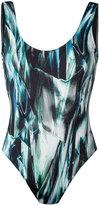 Mona - 'Azolla' one-piece swimsuit - women - Polyester/Spandex/Elastane - L