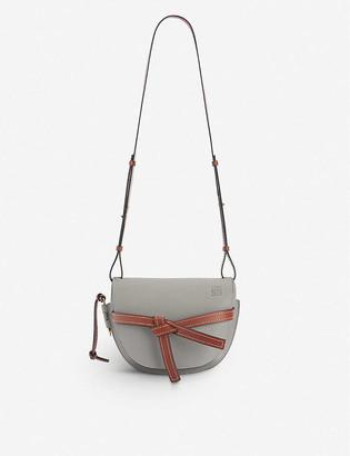 Loewe Gate leather saddle bag