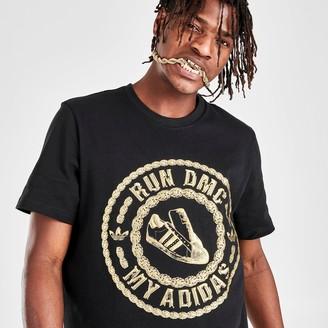 adidas Men's x Run-DMC Metallic T-Shirt