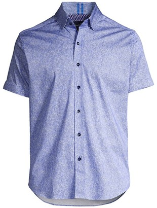 Robert Graham Classic-Fit Scott Smocked Short-Sleeve Shirt