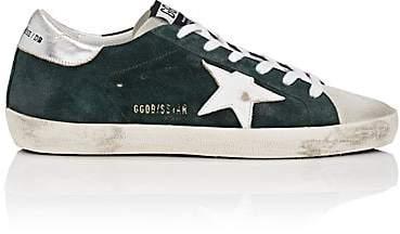 Golden Goose Women's Superstar Suede Sneakers - Dk. Green
