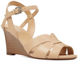 Nine West Summer Stacked Wedge Heel Sandal