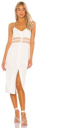 Tularosa Coral Dress