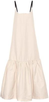 Lee Mathews Reo cotton and silk maxi dress