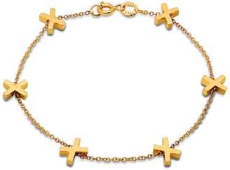 Established X Chain Bracelet