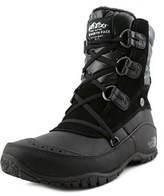 The North Face Nuptse Purna Short Women Round Toe Leather Black Winter Boot.