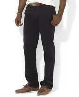 Polo Ralph Lauren Men's Big and Tall Pants, Suffield Classic-Fit Flat-Front Chino Pants