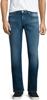 J Brand Cole Relaxed Straight-Leg Jeans, Reed