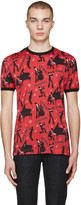 Dolce & Gabbana Red 'Mambo' T-Shirt