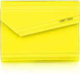 Jimmy Choo Candy acrylic shoulder clutch