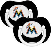 Baby Fanatic MLB Florida Marlins 2-Pack Pacifiers