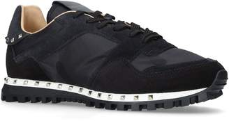 Valentino Garavani Studded Camouflage Sneakers