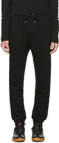 McQ by Alexander McQueen Black Logo Glyph Icon Lounge Pants