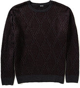 Murano Manhattan Collection Diamond Crew Sweater