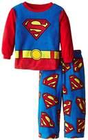 Superman DC Comics Fleece Boys Pajama Set