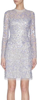 Needle & Thread 'Tempest' sequin embroidered dress