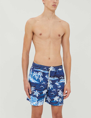Polo Ralph Lauren Traveller graphic-print swim shorts