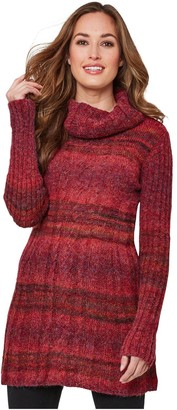 Joe Browns Cosy Longline Knit - Red