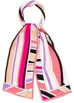 Emilio Pucci Silk Abstract Scarf