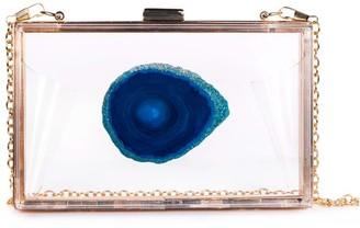 Agate Game Day Clutch Blue