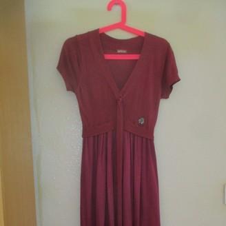 John Galliano Burgundy Dress for Women