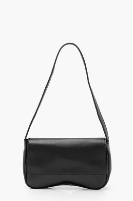 boohoo PU Foldover Under Arm Bag