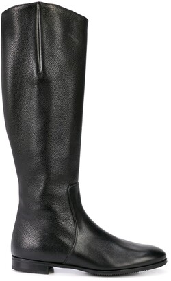 Gravati Knee-Length Zipped Boots
