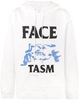 Facetasm Oversized Printed Logo Hoodie - men - Cotton - One Size