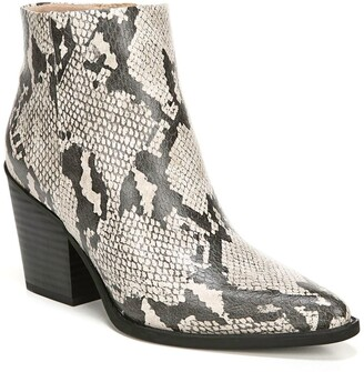 Soul Naturalizer Mikey Snake Embossed Mid Boot - Wide Width Available