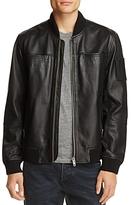 Blanknyc Leather Bomber Jacket