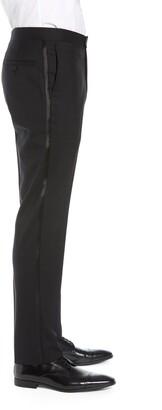 Nordstrom Slim Fit Stretch Wool Tuxedo Dress Pants