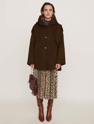 Maje Double face cape coat