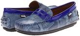 Venettini Randy (Toddler/Little Kid) (Blue Denim/Blue Neon) - Footwear
