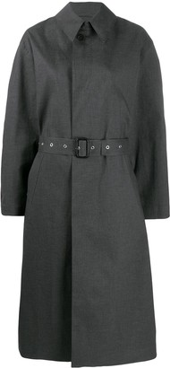 Maison Margiela Printed-Back Trench Coat