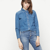 Maje Floaty denim shirt