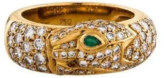 Cartier Panthère de Diamond & Emerald Band