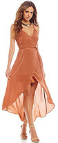 Gianni Bini Pia Fan Fav Tulip Hem Wrap Dress